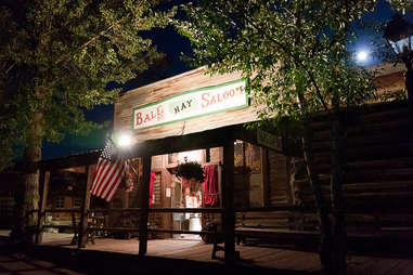 Bale of Hay Saloon Virgnia City MT