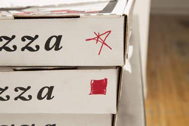 Pizza markings