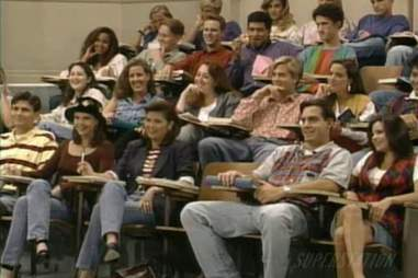 California University Saved by the Bell