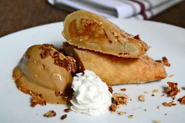 Fried apple pie at The Partisan