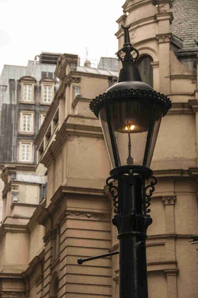 Sewer Gas Lamp