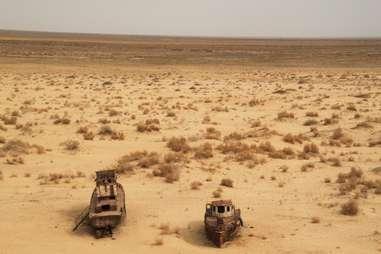shipwrecks desert