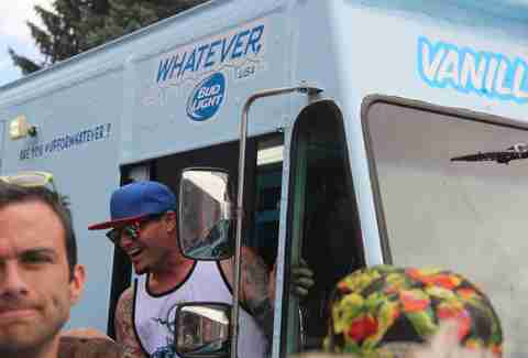 vanilla ice in ice cream truck