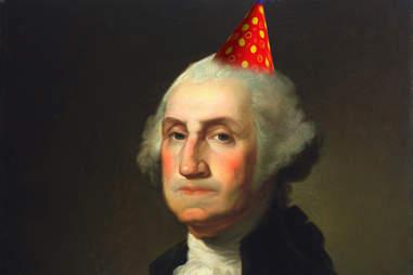 George Washington party hat