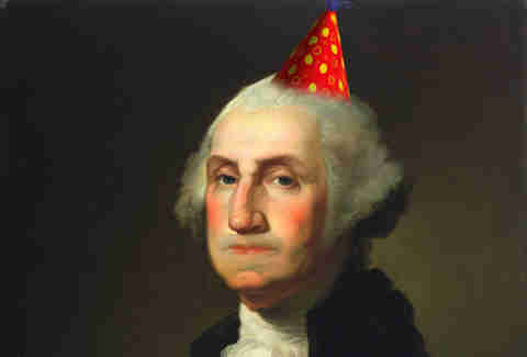 George Washington party hat