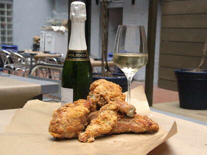 Fried Chicken and Champagne NYC