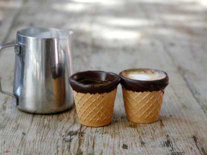 Alfred Coffee espresso cup cones