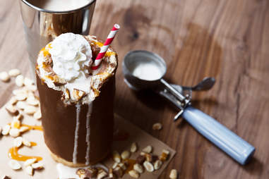 The Snickers milkshake cup. Nothing else even matters anymore. - Thrillist Recipes