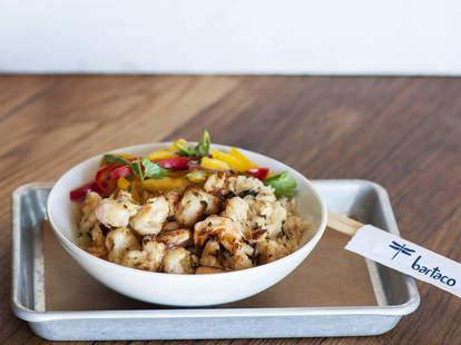 Bartaco dish
