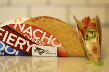 Spicy Chicken Cool Ranch Doritos Locos Taco