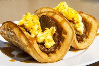 Taco Bell Waffle Tacos