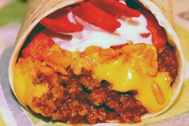 Taco Bell Fritos burrito