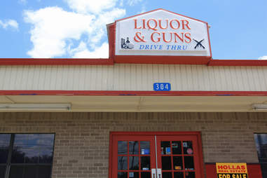 liquor and guns