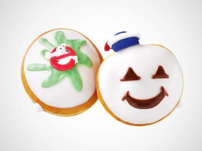 Ghostbusters Krispy Kreme donuts