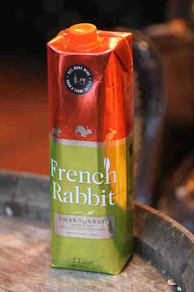 french rabbit chardonnay
