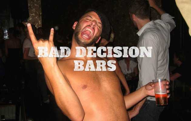 These are Louisville's 8 Bad Decision Bars