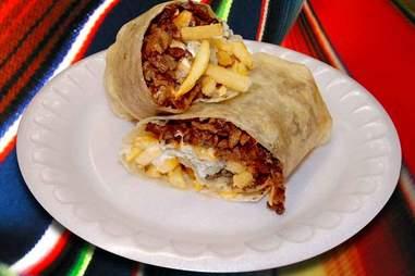 taqueria la mexicana breakfast burrito
