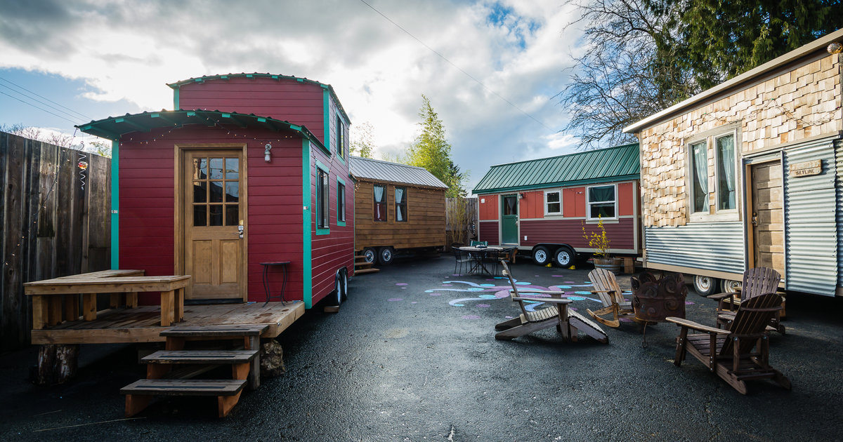 These tiny RV hotel rooms are a traveling hipster's dream