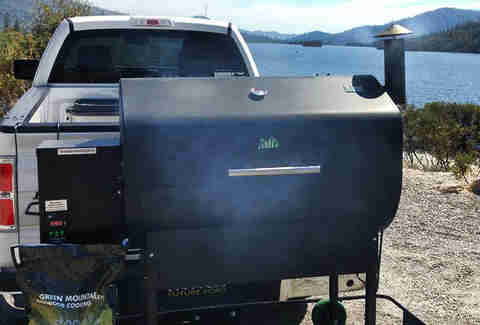 Green Mountain Grills Davy Crocket Wi-Fi