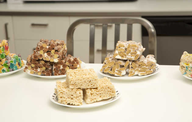 Should Rice Krispie Treats be made with anything but Rice Krispies?