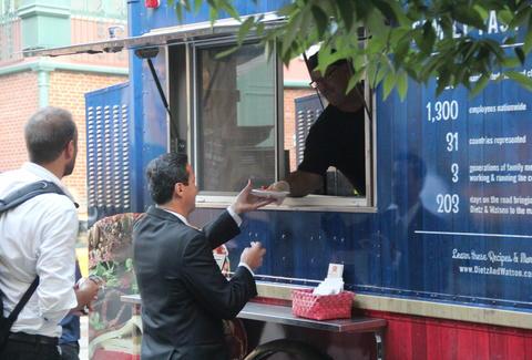 Dietz watson th anniversary food truck tour thrillist