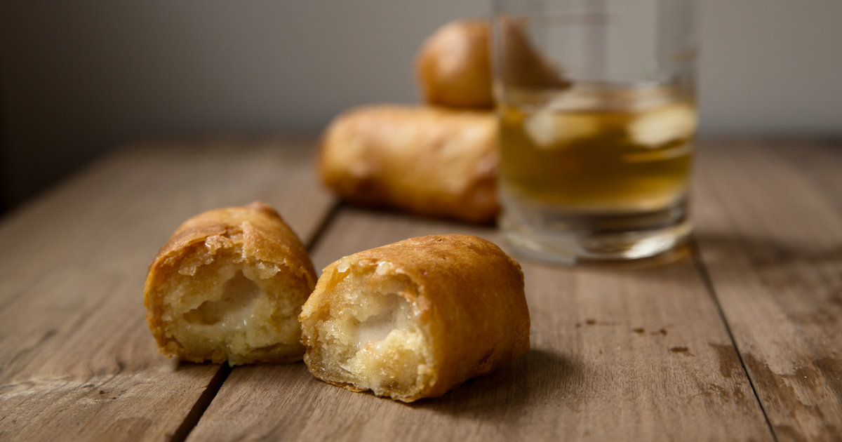 These fried Twinkies are also full of bourbon