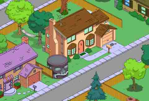 Evergreen Terrace The Simpsons