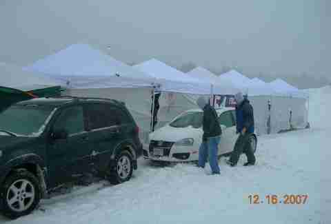 Blizzard at the Tailgate
