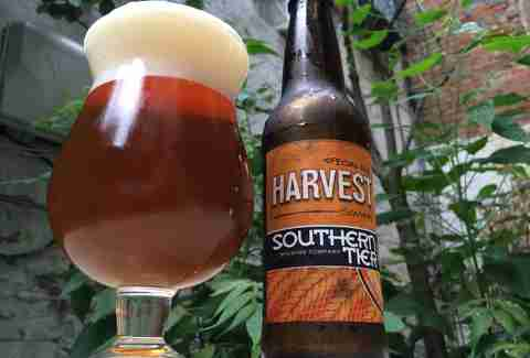 southern tier harvest beer