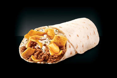 Taco Bell's beefy Fritos burrito