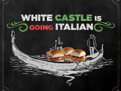 white castle pizza sliders