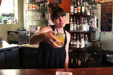 angry bartender