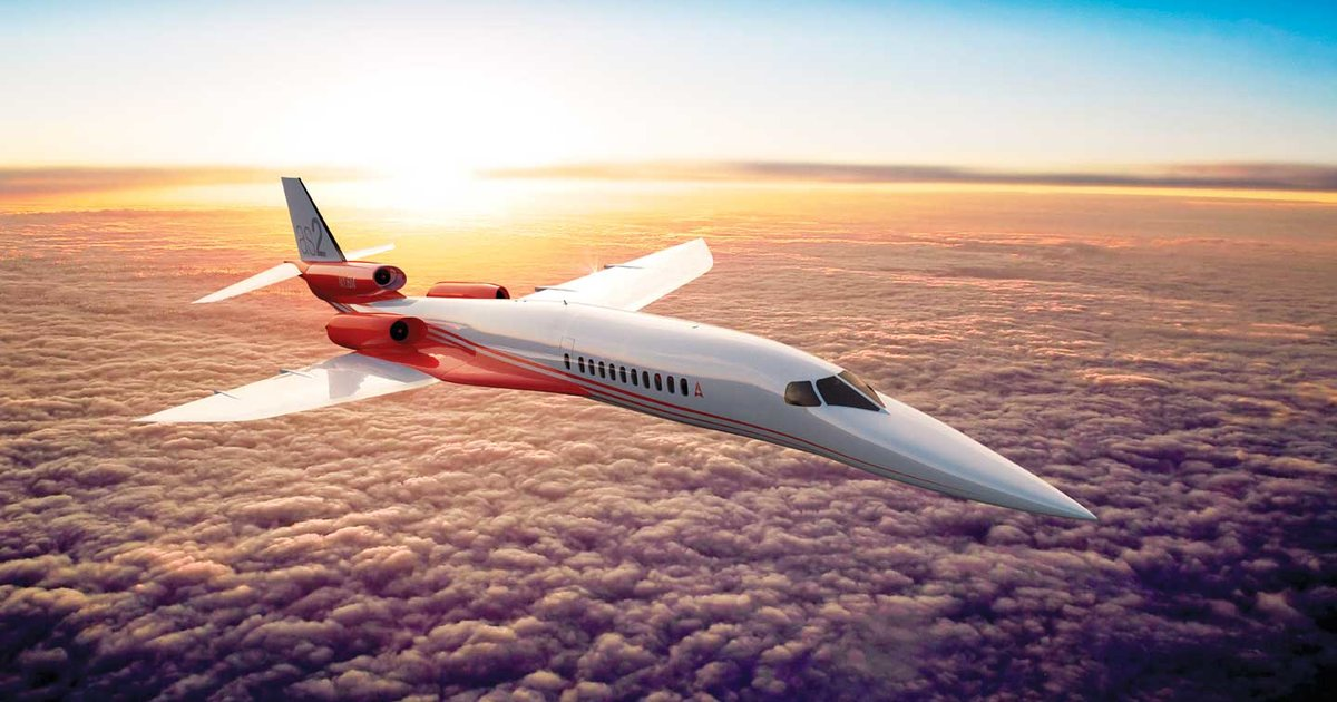 Finally, a supersonic airliner to replace the Concorde