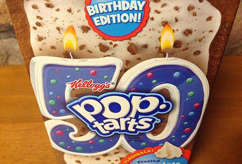 pop tart 50th birthday