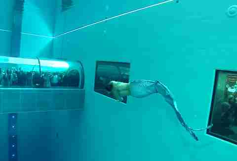 World 39 S Deepest Swimming Pool In Italy Thrillist