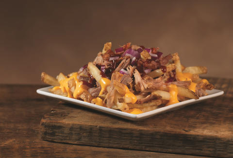wendy's pulled pork cheese fries