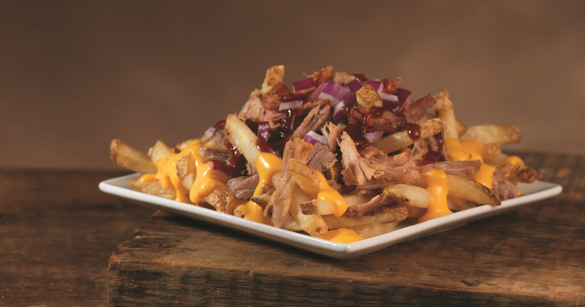 Pulled Pork Cheese Fries At Wendy U0026 39 S