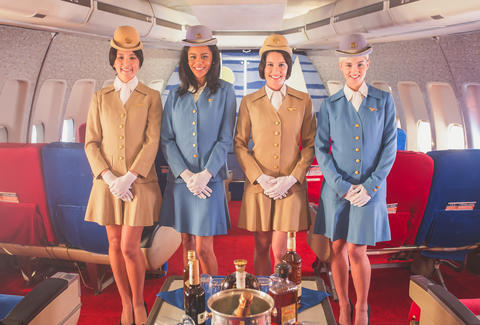 pan am flight attendants