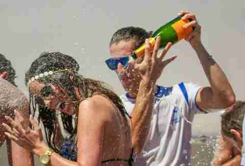 Spray Party Ocean Club Marbella Spain