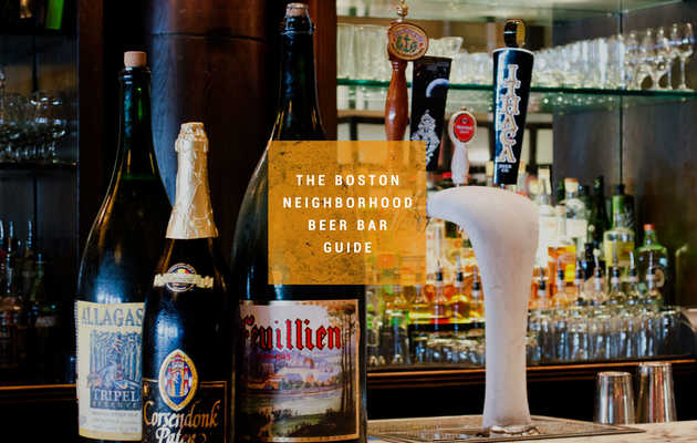 The best beer bars in 18 Boston neighborhoods