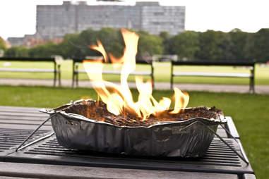 It's a grill
