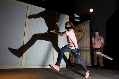 Giggles and gore Clown Haunted House at Halloween Horror Nights Orlando