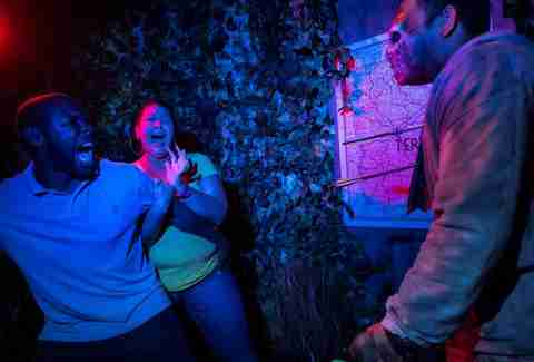The Walking Dead Haunted House at Halloween Horror Nights Orlando