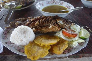 catagena lunch fish