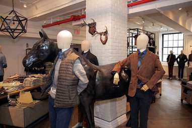 Lord & Taylor horse