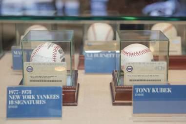 Lord & Taylor signed baseballs