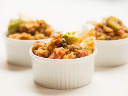 Slow Cooker Nachos Lasagna — Thrillist Recipes