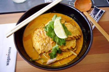 wagamama curry bowl