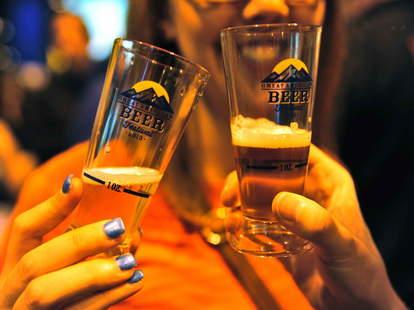 Great American Beer Festival samples
