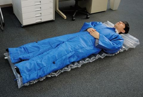 Wearable Air Mattress By King Jim Lets You Sleep Anywhere